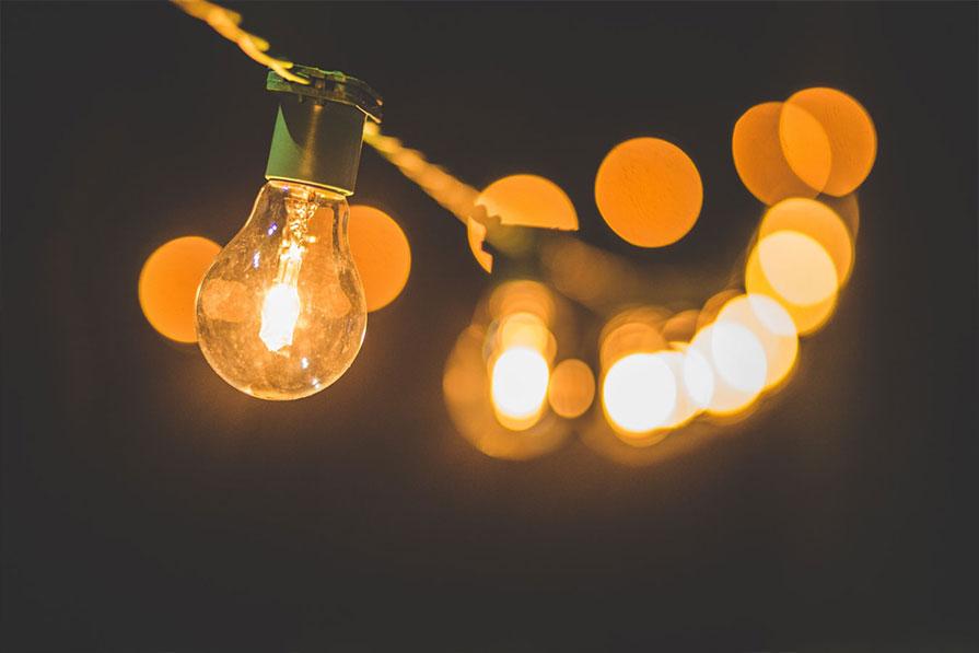 Pequeñas luces, pero que importantes, para esos días de penumbra