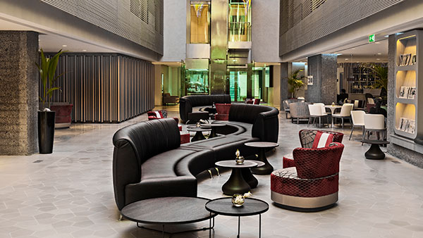 Hospitality: blended space
